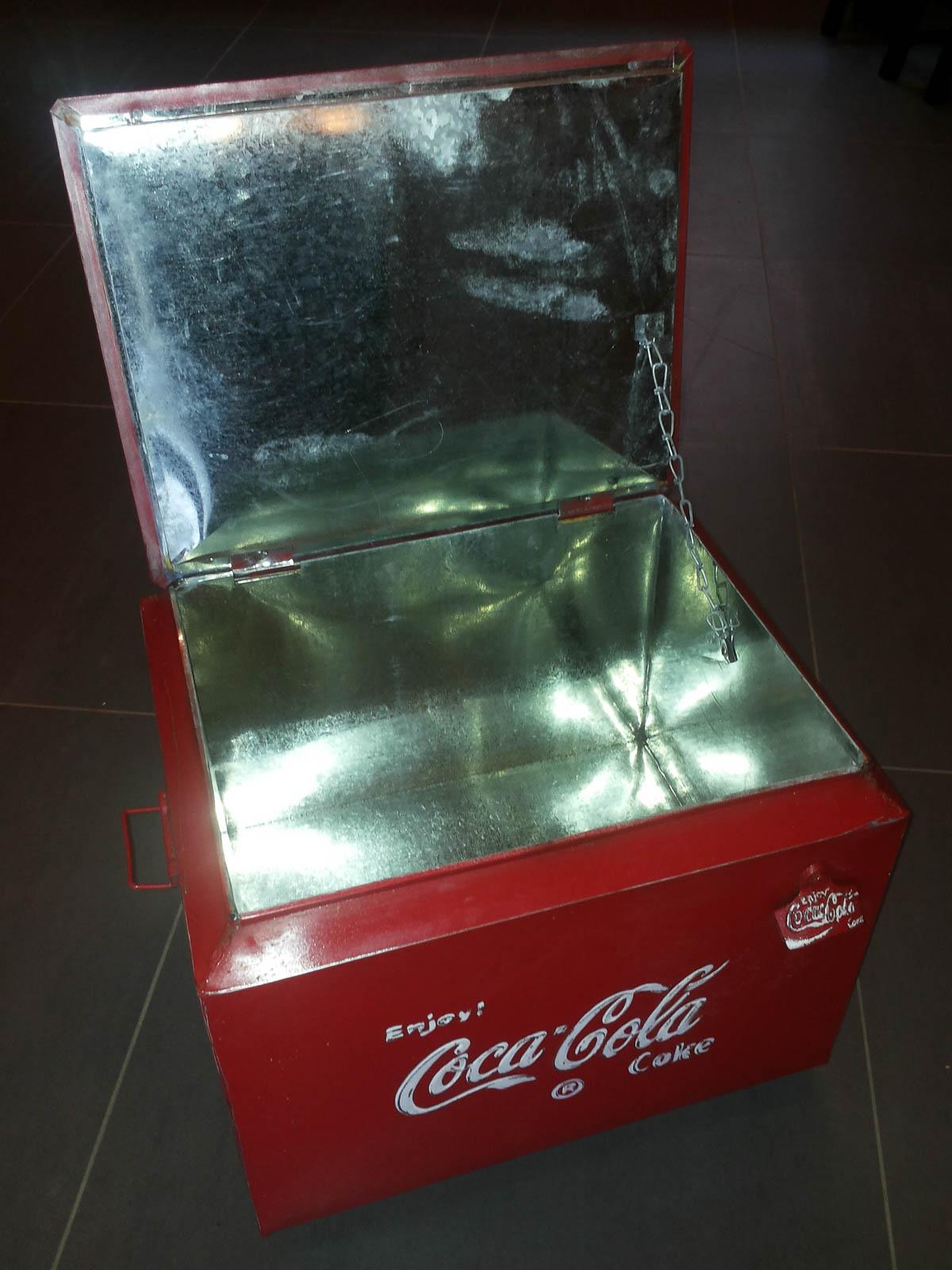 glaci re vintage coca cola la case d co. Black Bedroom Furniture Sets. Home Design Ideas